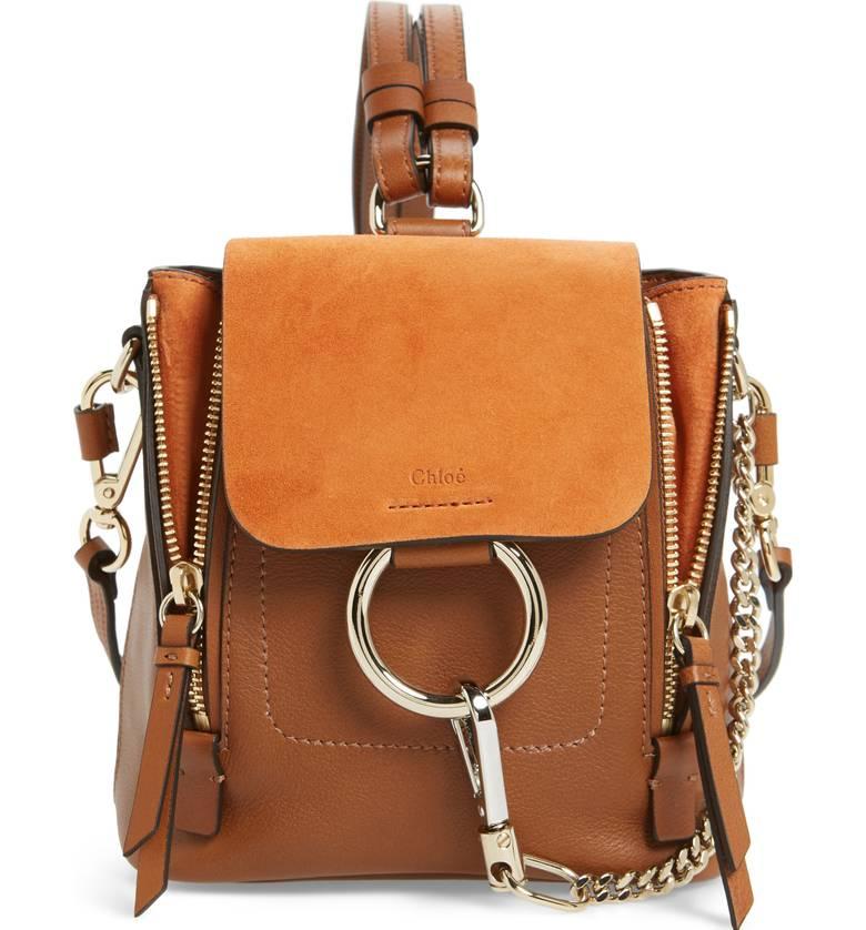 Chloe mini backpack