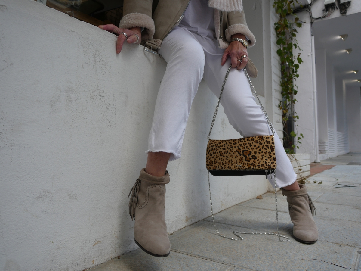 Winter White & Leopard