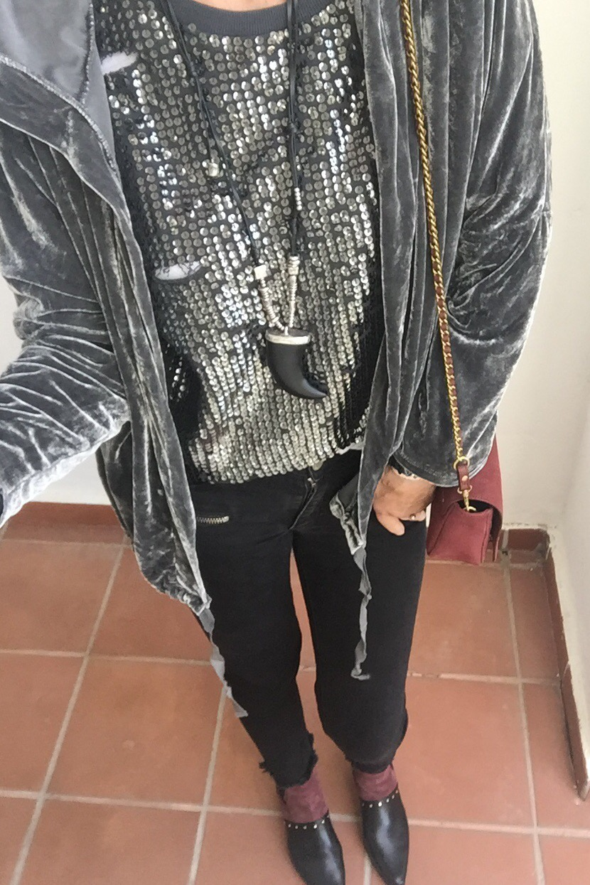 #OOTD How to Rock Sequins by Day